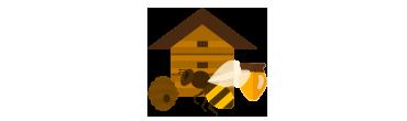 Mẫu web bán mật ong – Thiết kế web Hàm Rồng Media